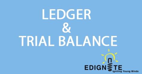 ledger & trial balance