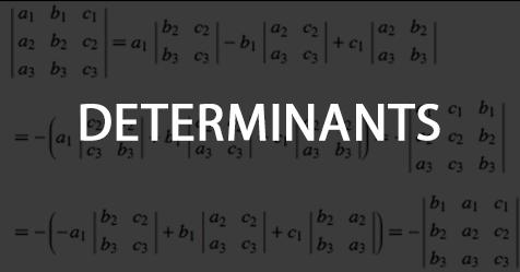 DETERMINANATS