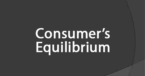 consumer-equilibrium-business-studies