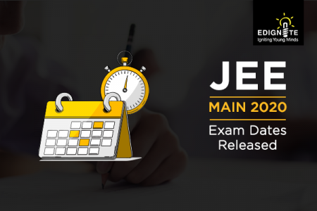JEE Main 2020 Exam Dates Released